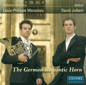 German romantic horn